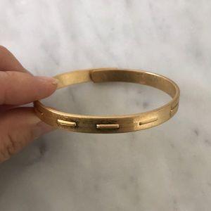 Madewell gold bracelet